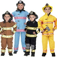 Junior Fire Fighter Suit with Helmet