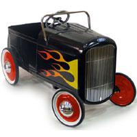 1932 Flamed Roadster Hot Rod