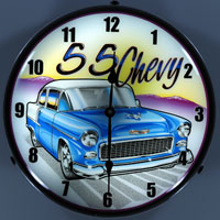 1955 Chevy Wall Clock