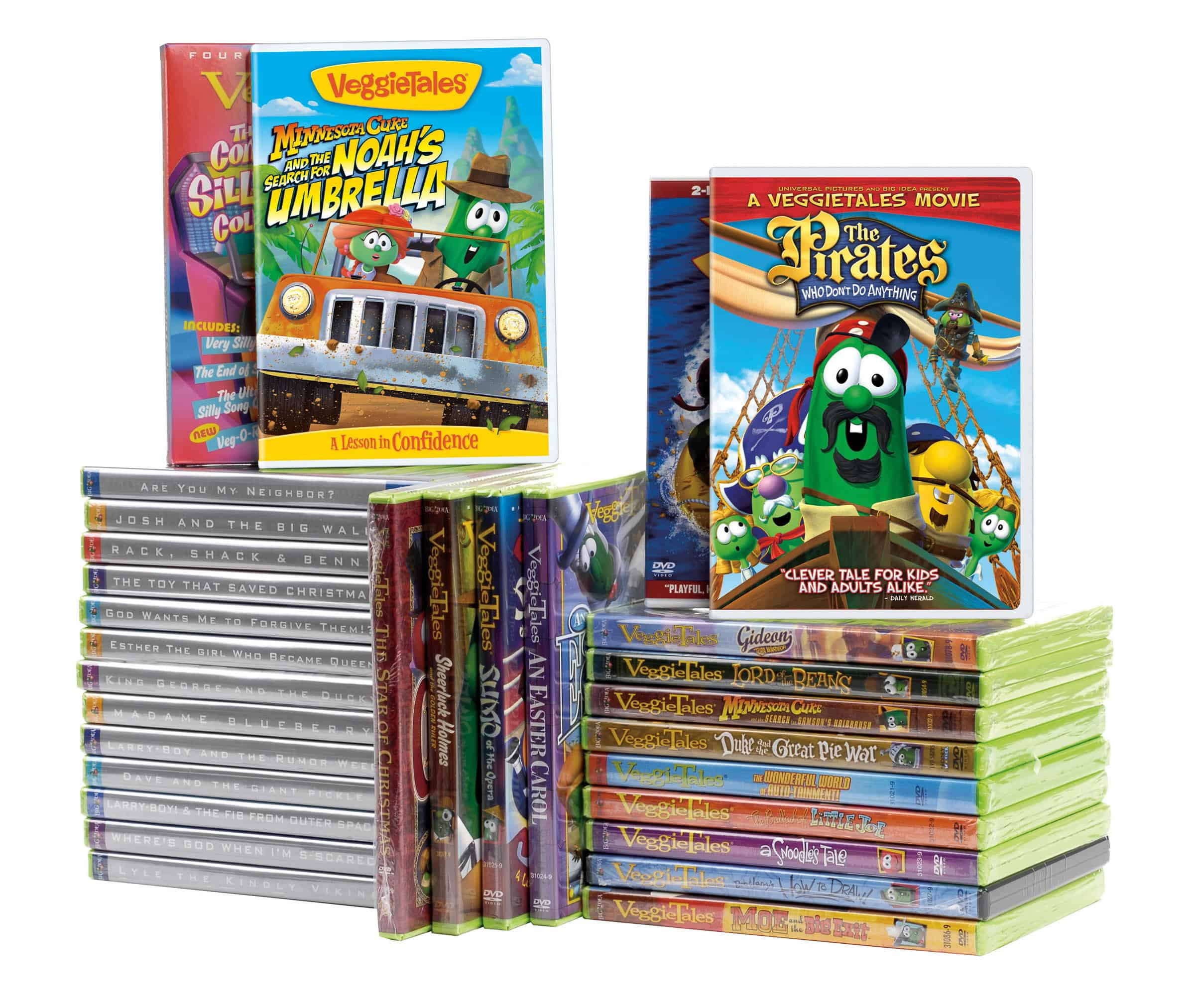 Veggie Tales Library Smaller