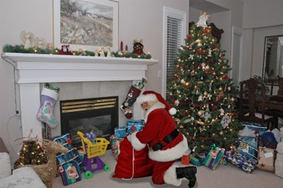 Exceptional Santa In Our Living Room. Do Your Kids Still Believe In 5 Minutes For Mom Part 4