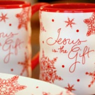 DaySpring — Jesus is the Gift, Snowflake Home Collection