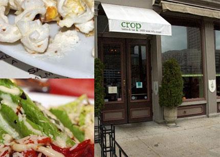 Lunch at Crop Bistro & Bar