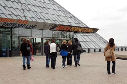 Touring the Rock and Roll Hall of Fame