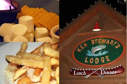 Dinner at Ken Stewarts Lodge