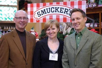 Richard Smucker, Nikki Gardner, Mark Smucker
