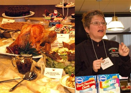 Thanksgiving Feast and Smucker's Product Presentation