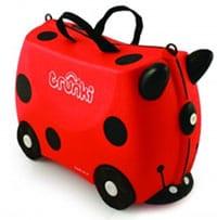 Trunki Ladybug Ride On Suitcase