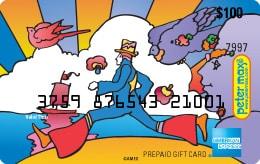 Peter Max card