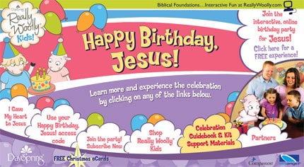 Happy Birthday Jesus - Really Woolly