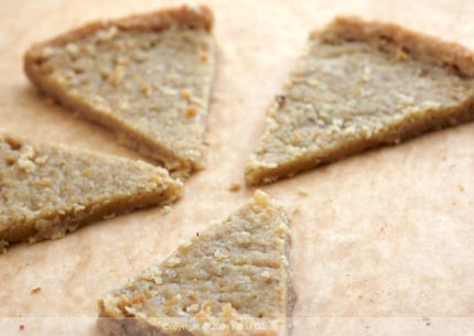 Star-studded Walnut Shortbread - 5 Minutes for Mom