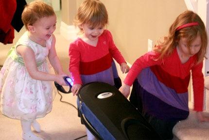 Tackle it Tuesday - Vacuuming