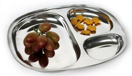 Round Food Tray
