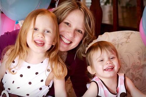 Julia and Sophia with Me
