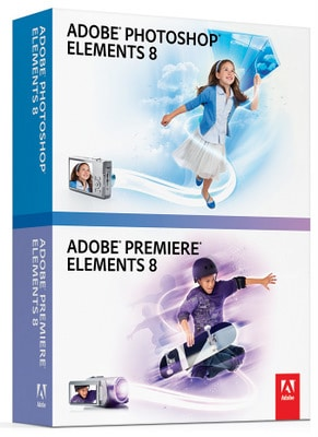 WIN! Adobe Photoshop Elements 8 and Adobe Premiere Elements 8 Bundle
