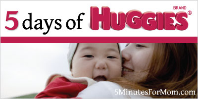 5 Days of Huggies Giveaway