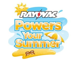 Fantastic Summer Prizes EVERY DAY from Rayovac!