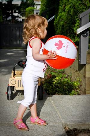 Canada Day - Sophia