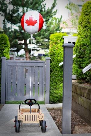 Canada Day - Car