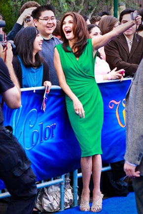 Teri Hatcher at Disney World of Color