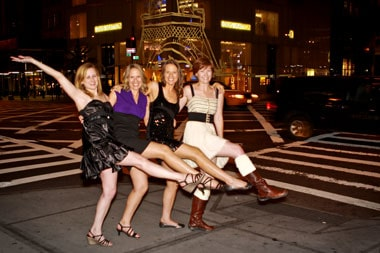 Erica, Susan, Janice, Molly - our videographer