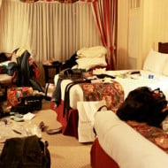 Tackle It Tuesday — Packing up the Messiest Hotel Room in New York