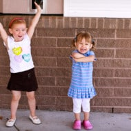 No Preschool Tears for these Two Two-Year-Olds