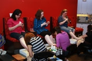 Pampering yourself at BlogHer 10 - video