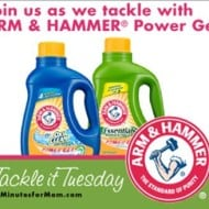 Tackle Tough Stains With ARM & HAMMER® Power Gel Laundry Detergent and WIN!