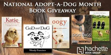 October Adopt-a-Dog Month Book Giveaway