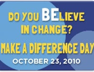 5 Minutes for Making a Difference – Make A Difference Day