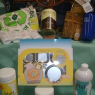 Go Green This Christmas With a Celebrity Gift Basket Worth Over $450