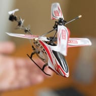 Metal Frame Micro RC Helicopter from Discovery Store Giveaway