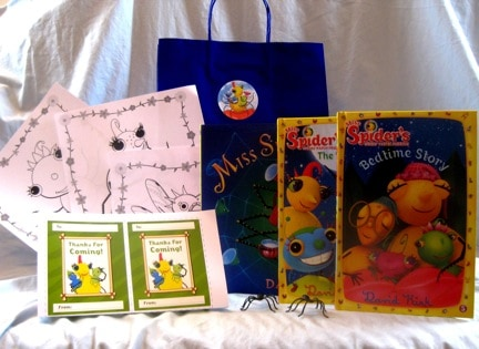 Miss Spider Tea Party Goody Bags