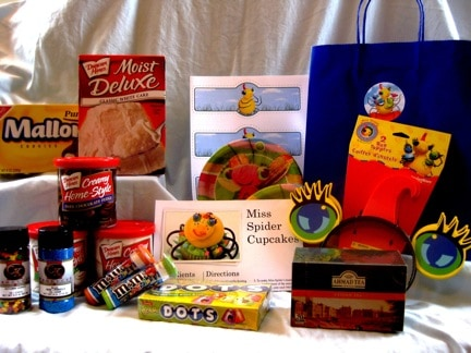 Miss Spider Tea Party Package