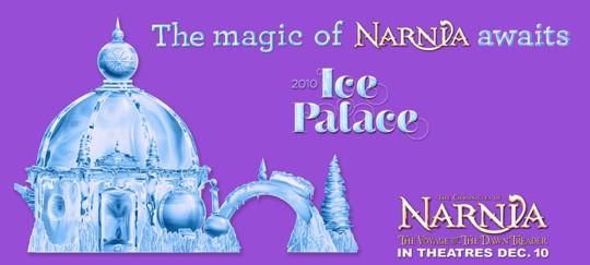 Magic of Narnia Ice Palace Event