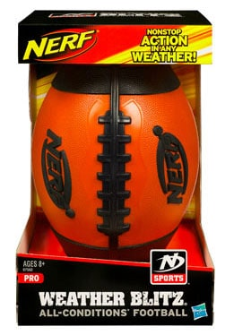 Nerf N Sports Weather Blitz Pro All-Conditions Football