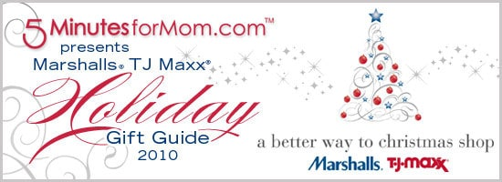 Online Holiday Gift Guide with TJ Maxx and Marshalls