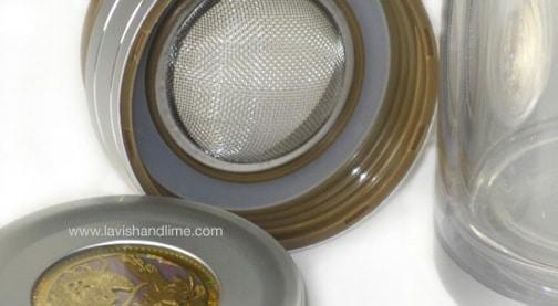 Lavish & Lime Thermal Travel Tea Glass