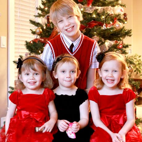 Our Kids - Sophia, Olivia, Julia, and Jackson