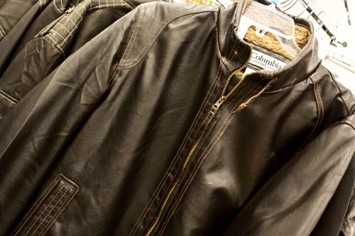 Columbia Sportswear Imitation Leather Jacket $39.99 at T.J. Maxx