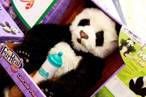 Fur Real LuvCub Panda $24.99 at Marshalls and T.J. Maxx