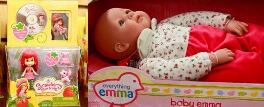 Strawberry Shortcake $3.00 at Marshalls, Baby Emma Doll $12.99 at T.J. Maxx