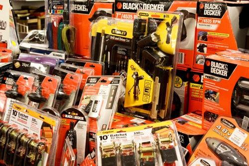 Assorted Tools at T.J. Maxx