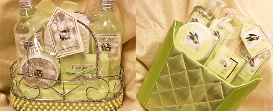 Assorted Bath and Body Gift Baskets at T.J. Maxx and Marshalls