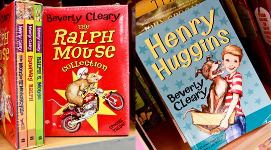 Beverly Cleary - The Ralph Mouse Collection $9.99 and Henry Huggins $3.99 at T.J. Maxx