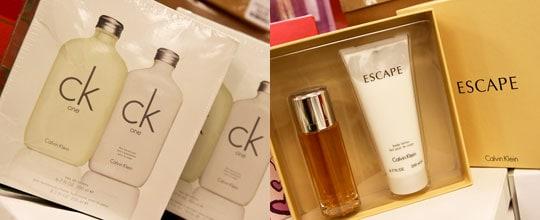 Calvin Klein One Gift Set $39.99, Calvin Klein Escape Gift Set $39.99 at T.J. Maxx
