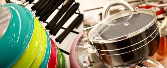 Assorted Cuisanart Frying Pans $12.99, Eco-Life Non-Stick Saucepan $24.99 at T.J. Maxx