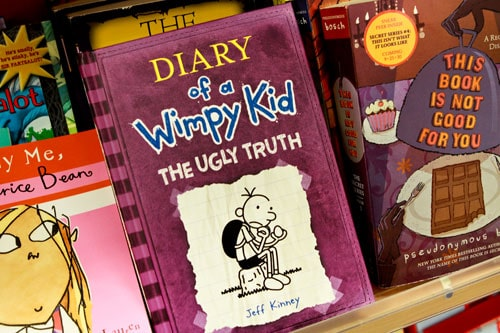 Diary of a Wimpy Kid - The Ugly Truth $8.99 at T.J. Maxx and Marshalls