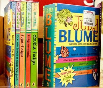 Judy Blume Set $19.99 at T.J. Maxx